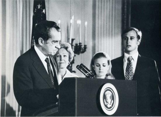Отставка президента Ричарда Никсона