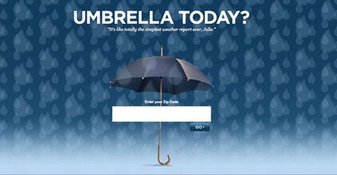 Зонтик Сегодня