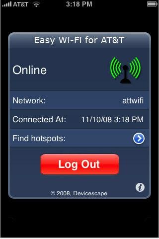 Простой Wi-Fi iPhone