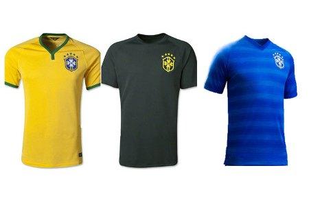 Форма сборной по футболу - Бразилия