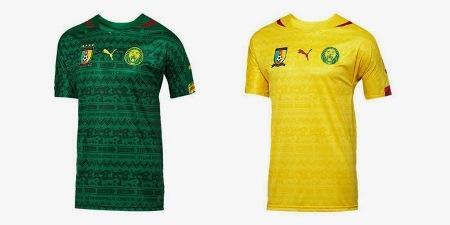 Форма сборной по футболу - Камерун