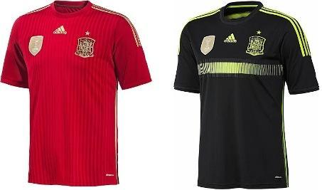 Форма сборной по футболу - Испания