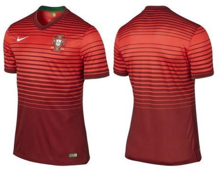 Форма сборной по футболу - Португалия