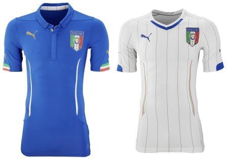 Форма сборной по футболу - Италия