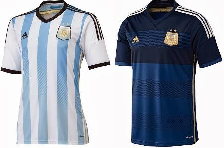 Форма сборной по футболу - Аргентина