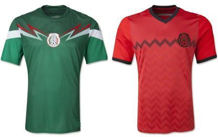 Форма сборной по футболу - Мексика