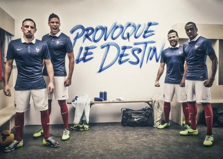 Форма сборной по футболу - Франция