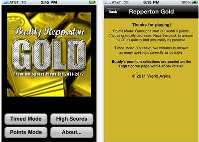Buddy Repperton Gold
