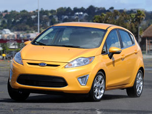 Ford Fiesta (с пакетом SFE - Super Fuel Economy )