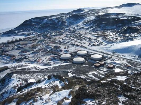 Станция Мак Мурдо, Антарктика