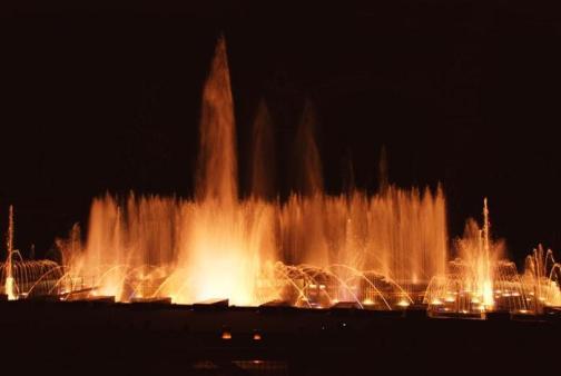 Поющие фонтаны Кржижикова