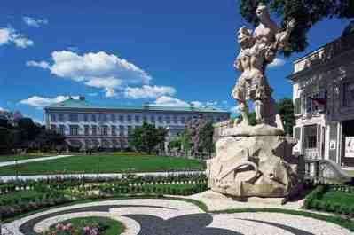 Зальцбург: Дворец Мирабель и сады