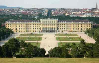 Вена: Королевский дворец Шенбрунн