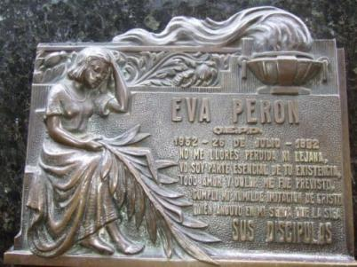 Могила Эвы Перон