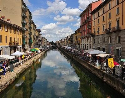 Миланский рынок антиквариата