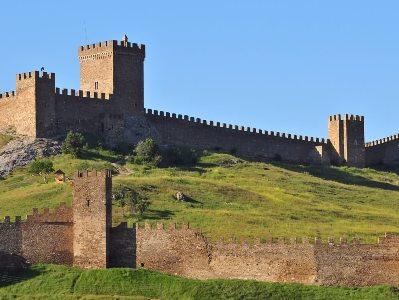 Генуэзская крепость, Судак, Украина