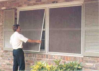 Окна с двойным переплётом