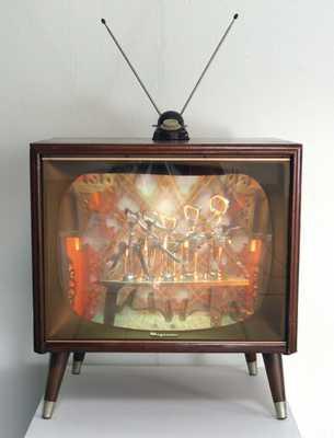 Телевизоры на ножках и антенны