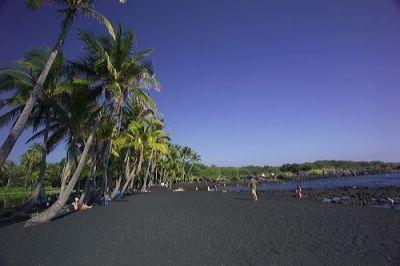 Пляж Пуналулу, Гавайи