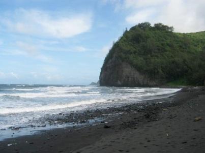 Пляж долины Пололу, Гавайи