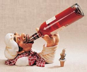 Смешные держатели для бутылки вина