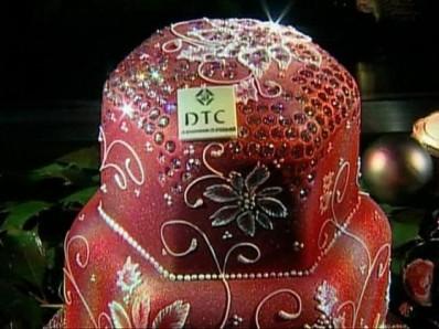 Бриллиантовый фруктовый кекс