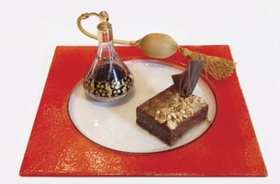 Необычный шоколадный кекс