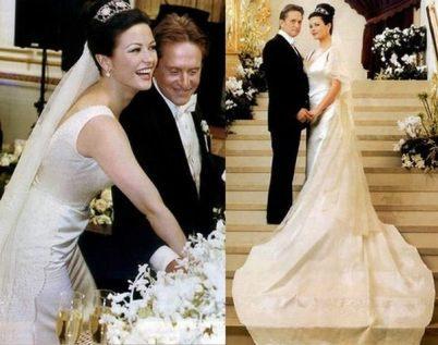 Свадебное платье актрисы Кетрин Зета-Джонс
