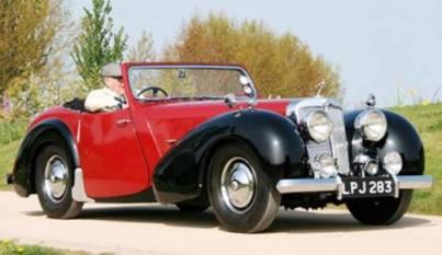 Triumph 1800 Roadster (1946 год выпуска)