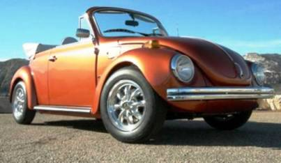 Volkswagen Super Beetle Convertible (1973 год)