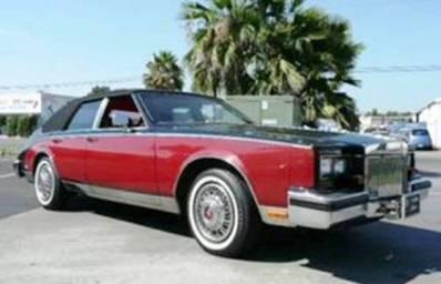 Cadillac Seville (Дизель, 1981 год выпуска)