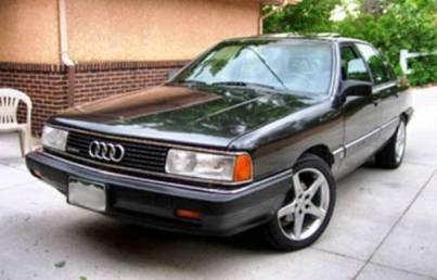 Audi 5000S (Дизель, 1980 год)