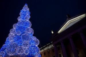 Светодиодная рождественская ёлка