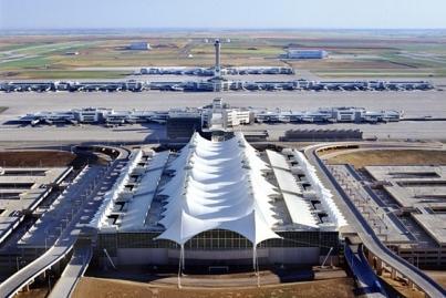 Международный аэропорт в Денвере