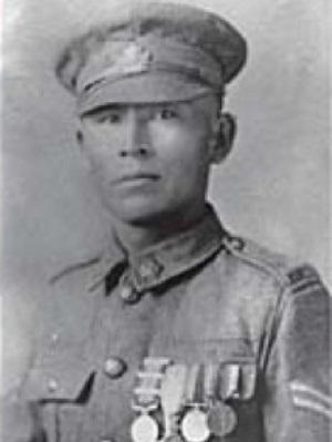 Капрал Францис Пегахмагабов (9 Марта, 1891 – 5 Августа, 1952)