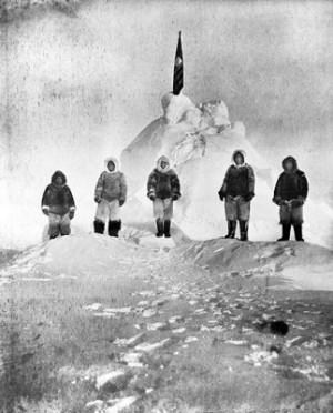 Первый на Северном Полюсе