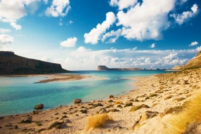 Пляж Мпалос на Крите