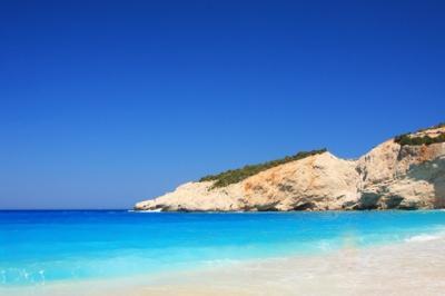 Пляж Порто Катсики на полуострове Левкадия