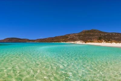 Пляж Симос на острове Элафонисос