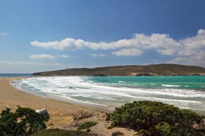 Пляжи Прасониси на Родосе